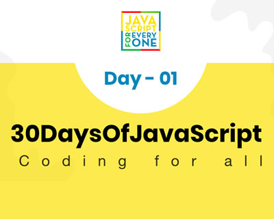 30 Days of JavaScript Programming Challenge