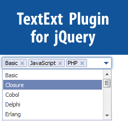 TextExt - Autocomplete and Tag Input Plugin for jQuery