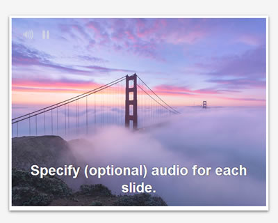 A-Slider – Responsive Slider With Audio Support
