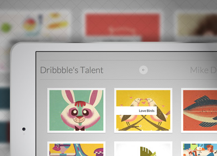 Adaptive Thumbnail Pile Effect with Automatic Grouping