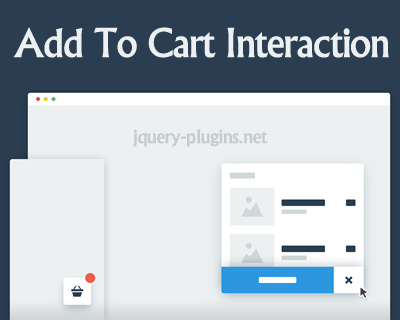 Add To Cart Interaction with CSS and Javascript
