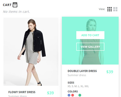 Add to Cart Interaction with CSS and jQuery