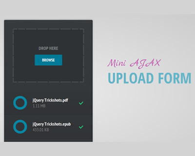 Ajax File Upload Form with jQuery