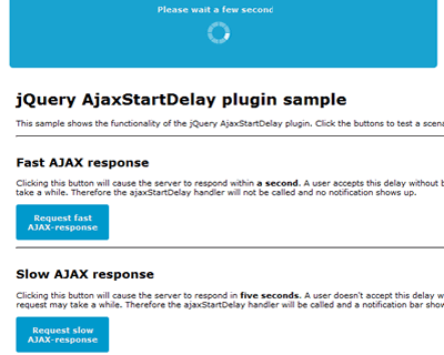 AjaxStartDelay – jQuery Plugin to Provide a Delay Before AJAX Request