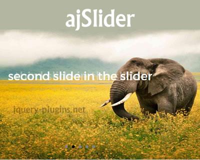 ajSlider – jQuery Slideshow Plugin