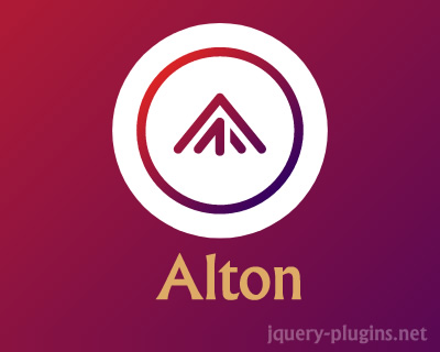 Alton – jQuery Scrolling Plugin with Twist