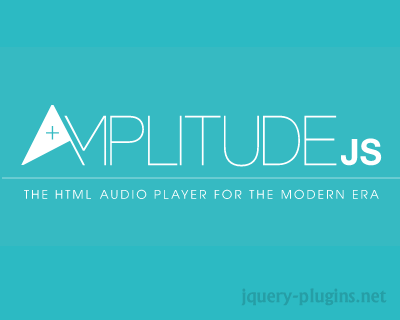 AmplitudeJS – HTML5 Audio Player For The Modern Era
