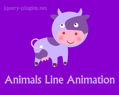 Animals SVG Line Animations