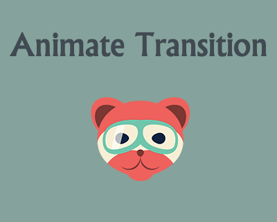 Animate Transition – Library for Transition Animations Between Blocks