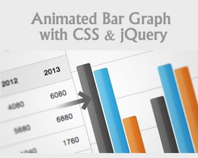 Create an Animated Bar Graph with CSS and jQuery