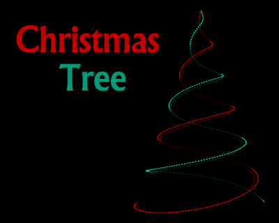 Animated Christmas Tree with JavaScript