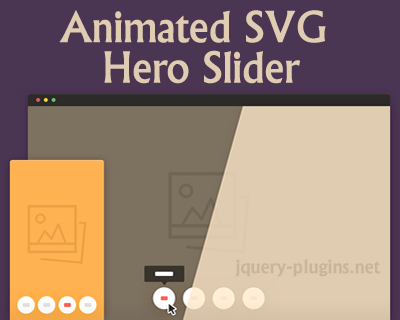 Animated SVG Hero Slider