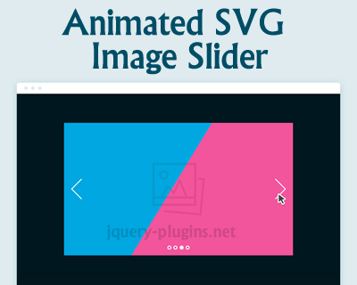 Animated SVG Image Slider