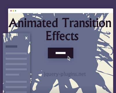 Animated Transition Effects with CSS and jQuery