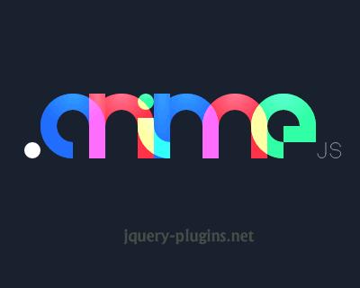 Anime – Javascript Animation Engine
