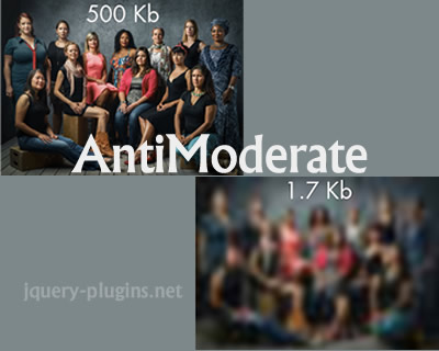 AntiModerate – Progressive Image Loading Library