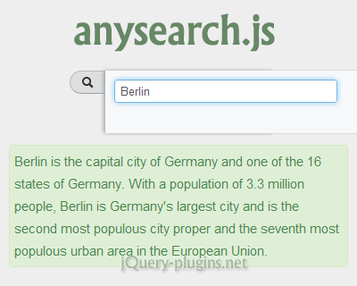 AnySearch.js – Direct Search in Browser with Barcode Scanner Support
