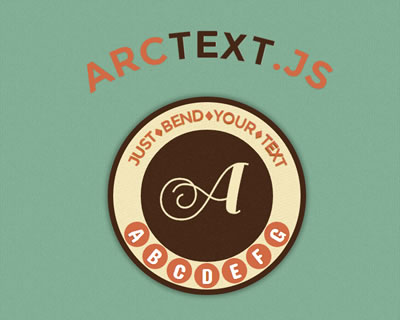 Arctext.js - Curving Text With Css3 and jQuery