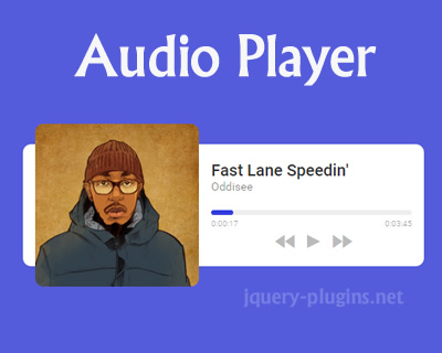 Audio Player with HTML5 and jQuery