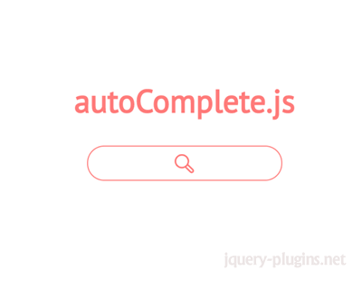 autoComplete.js – Simple Autocomplete with Javascript Library