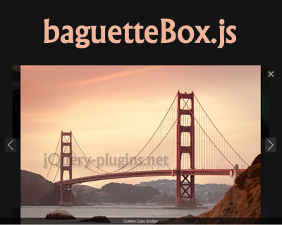 baguetteBox.js – Simple and Easy to Use Lightbox Script