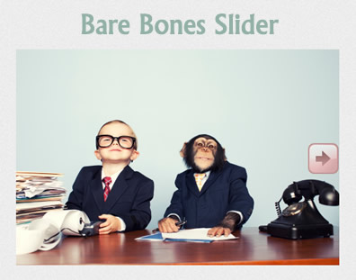 Bare Bones Slider – Flexible jQuery Slider