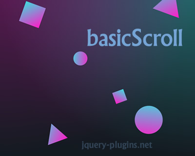 basicScroll – Standalone Parallax Scrolling for Mobile & Desktop