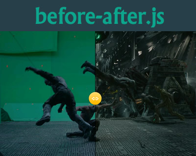 before-after.js – Responsive Image Comparision Slider