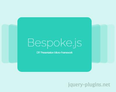 Bespoke.js – DIY Presentation Micro-Framework