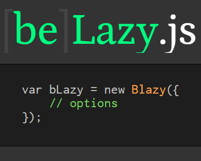 bLazy – Lazy Loading and Multi-Serving Image Script