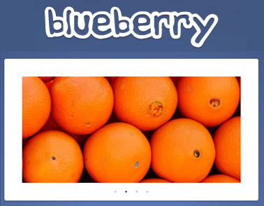 Blueberry – Fluid and Responsive jQuery Image Slider