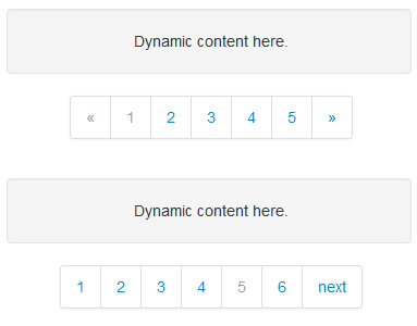 bootpag – Dynamic Pagination jQuery Plugin
