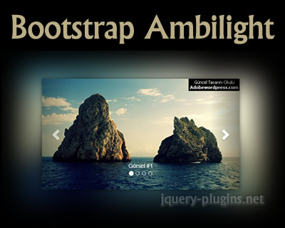 Bootstrap Ambilight Slider