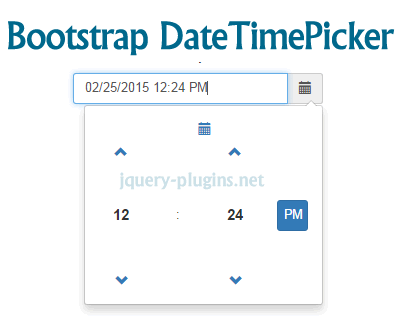 Bootstrap Date/Time Picker