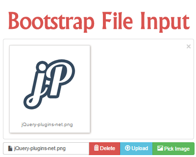 Bootstrap File Input