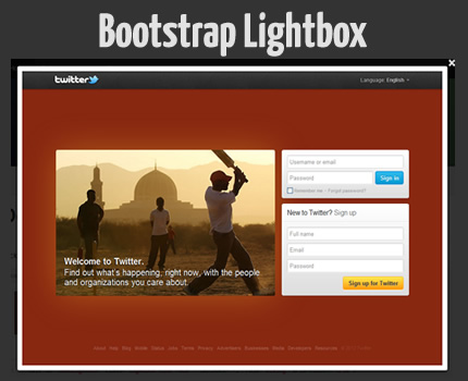 Bootstrap Lightbox Plugin