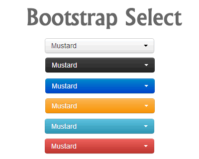 Bootstrap Select – Custom Select for Bootstrap