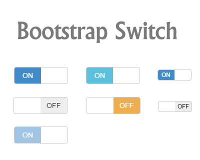 Bootstrap Switch