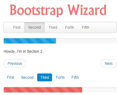Bootstrap Wizard Plugin