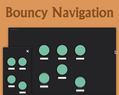 Bouncy Navigation
