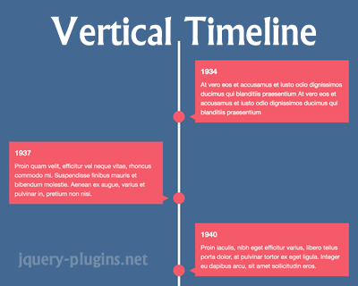 Building Vertical Timeline With CSS and JavaScript | jQuery