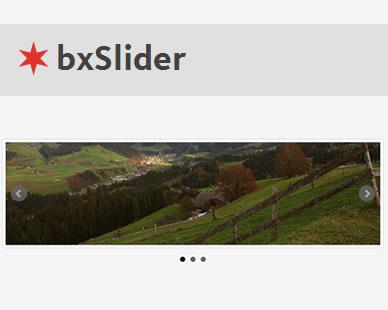 bxSlider – Responsive jQuery Content Slider