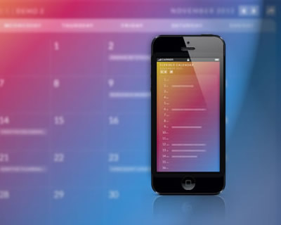 Calendario – Flexible jQuery Calendar Plugin