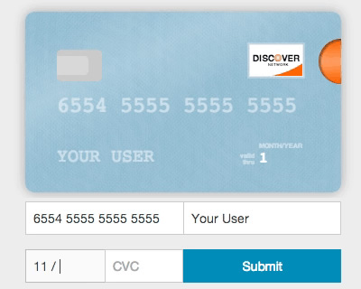 Card – Make Your Credit Card Form Better