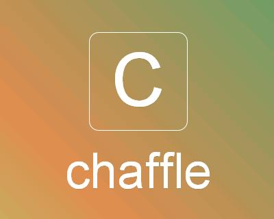Chaffle – jQuery Plugin to Shuffle Randomly Character