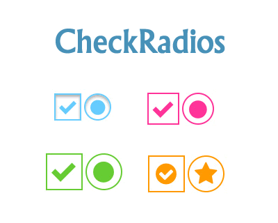 CheckRadios – Create Beautiful Checkboxes and Radio Buttons