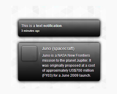 ClassyNotty – jQuery Plugin to Display Notifications