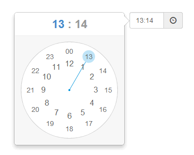 ClockPicker – Clock Style Timepicker for Bootstrap