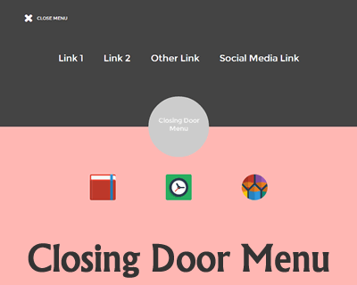 Closing Door Menu