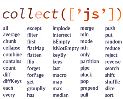 Collect.js – Dependency Free Wrapper for Working with Arrays and Objects